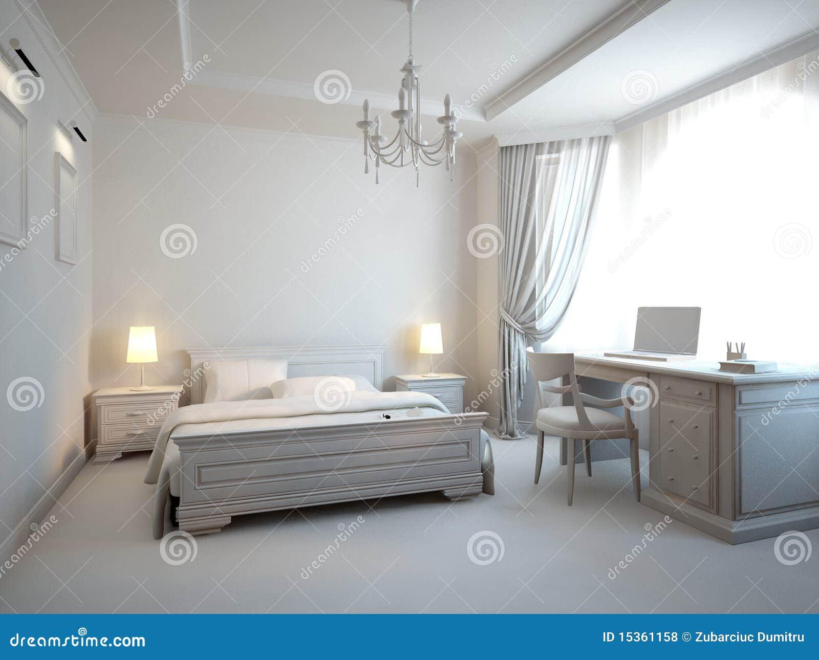 Grijze slaapkamer royalty vrije stock foto 39 s afbeelding 15361158 - Grijze slaapkamer ...