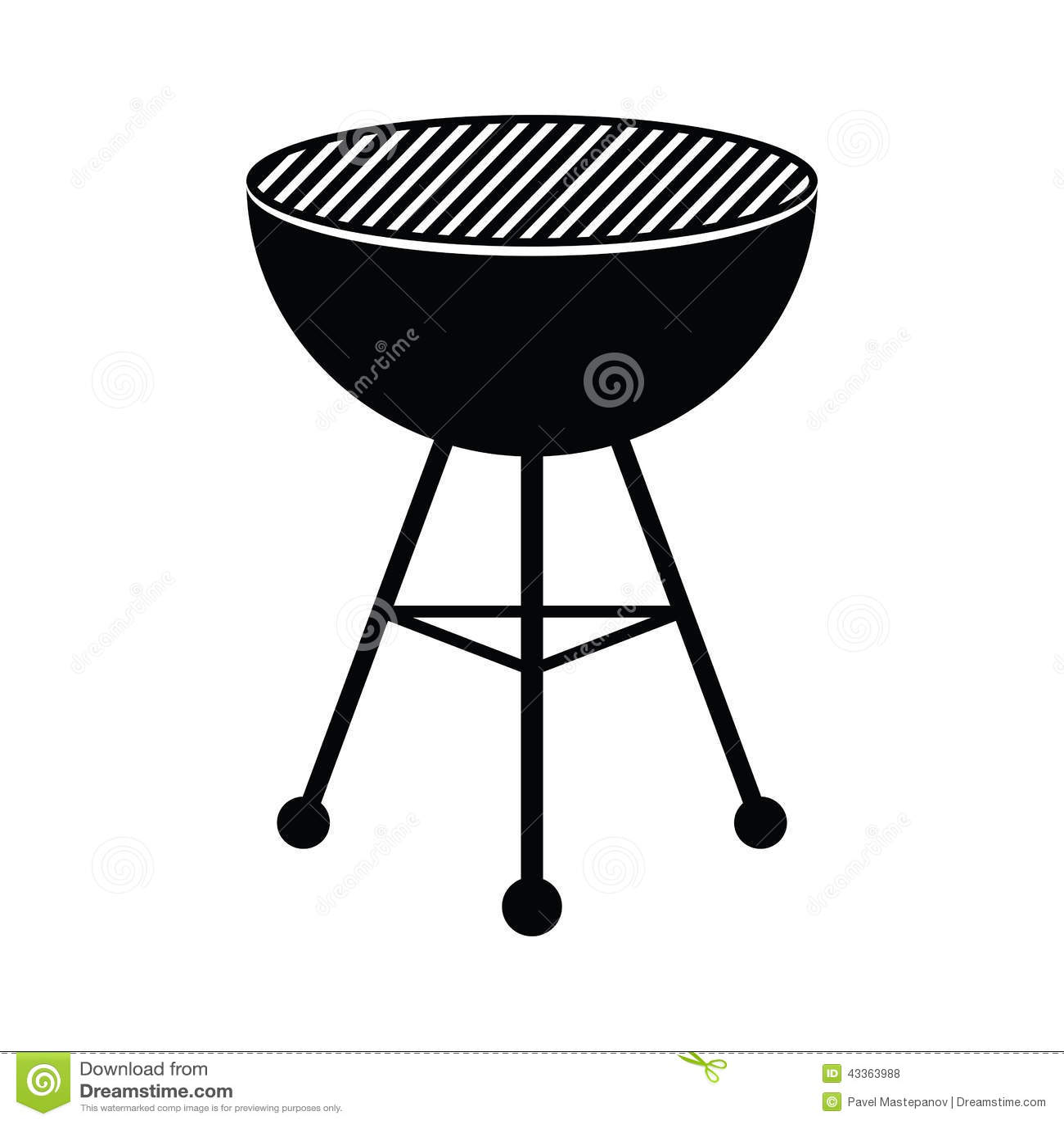 Gril de BBQ