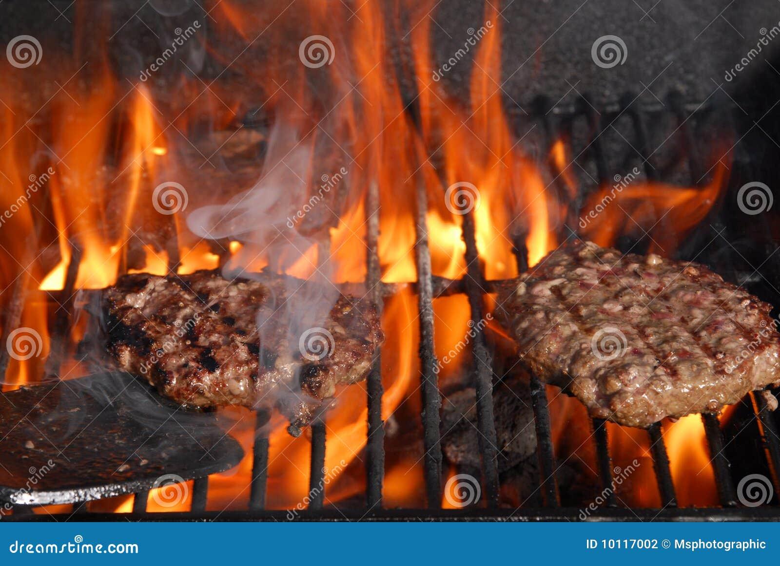 Grillów hamburgery