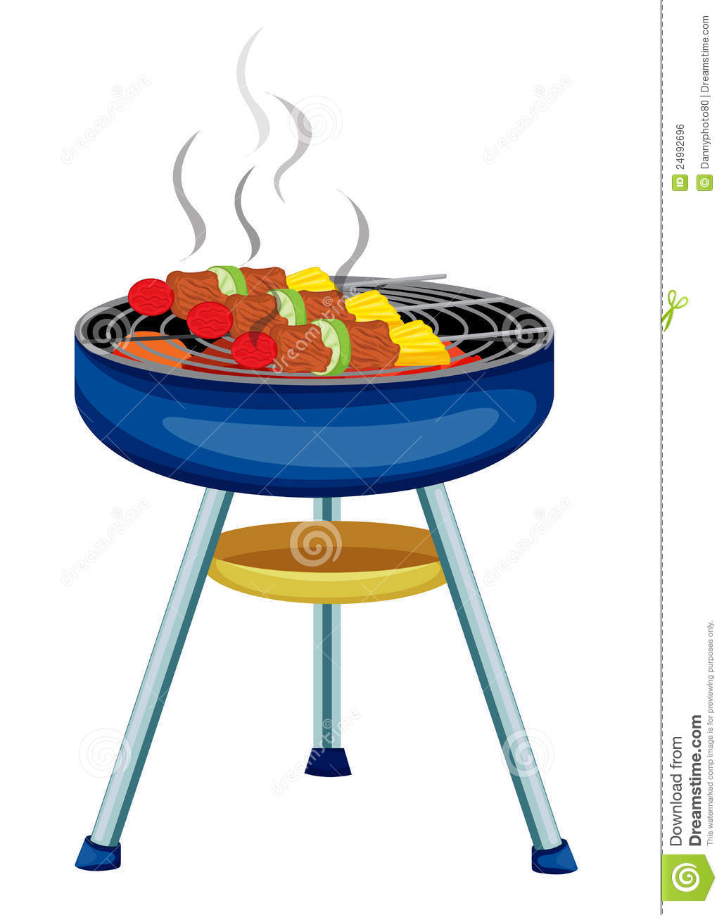 grill royalty free stock image image 24992696 barbeque clipart cartoon barbecue clipart