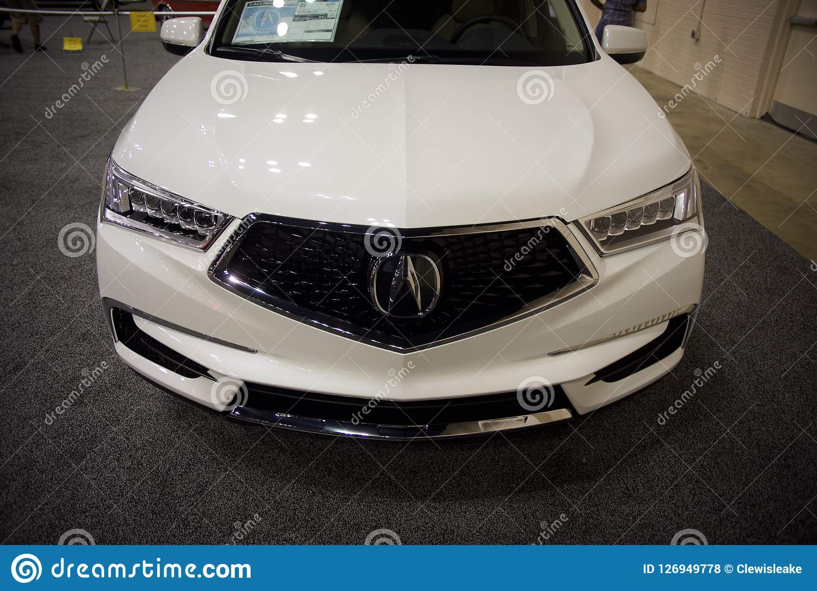 Grill Acuras MDX