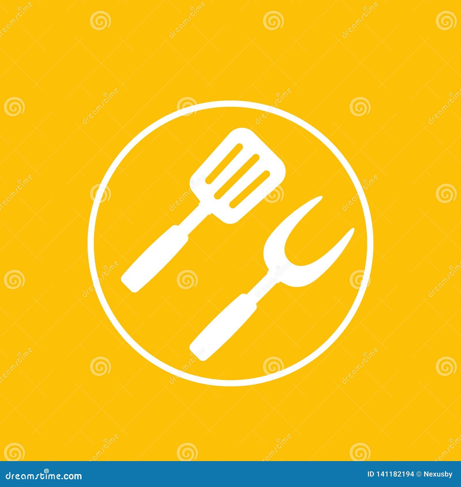 Grill, bbq ikona