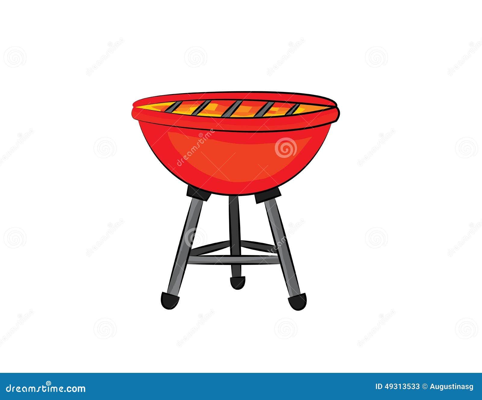 grill cartoon stock illustration illustration of object free bbq clipart borders free bbq clipart invitation