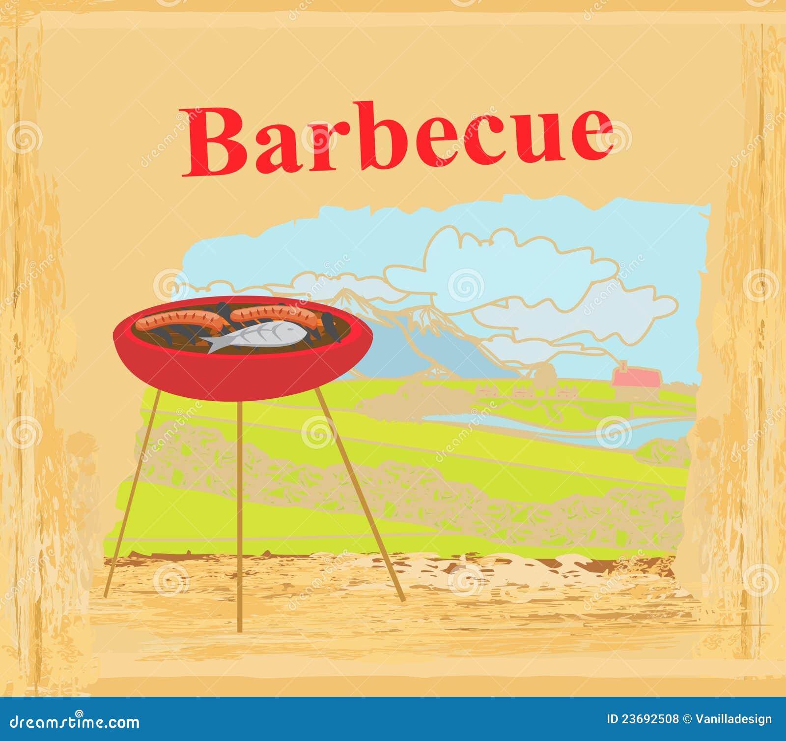 grill-party-einladung lizenzfreie stockfotos - bild: 23692508, Einladungen