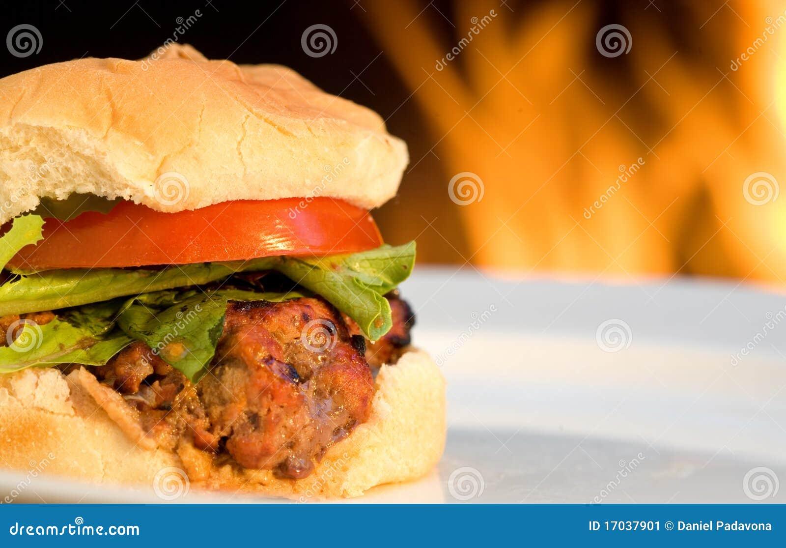 Grilla hamburgery