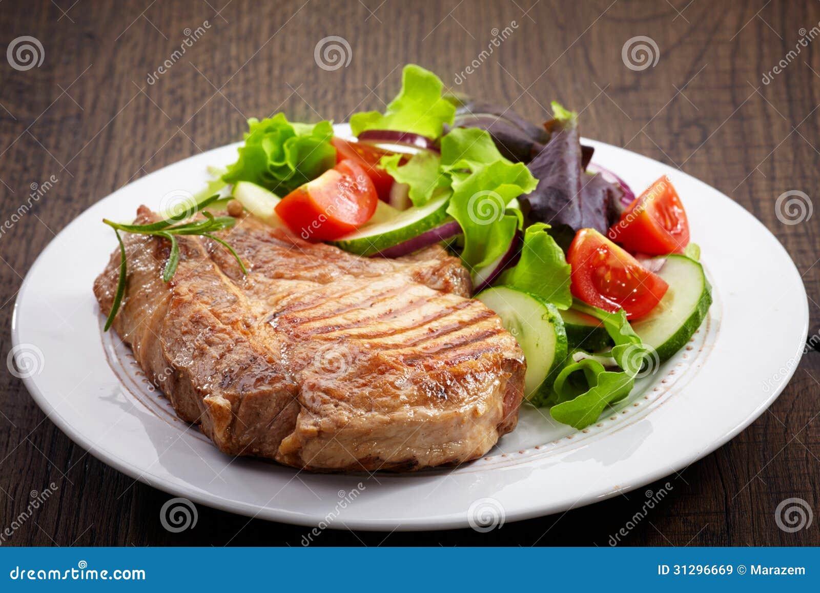 Grillad köttbiff