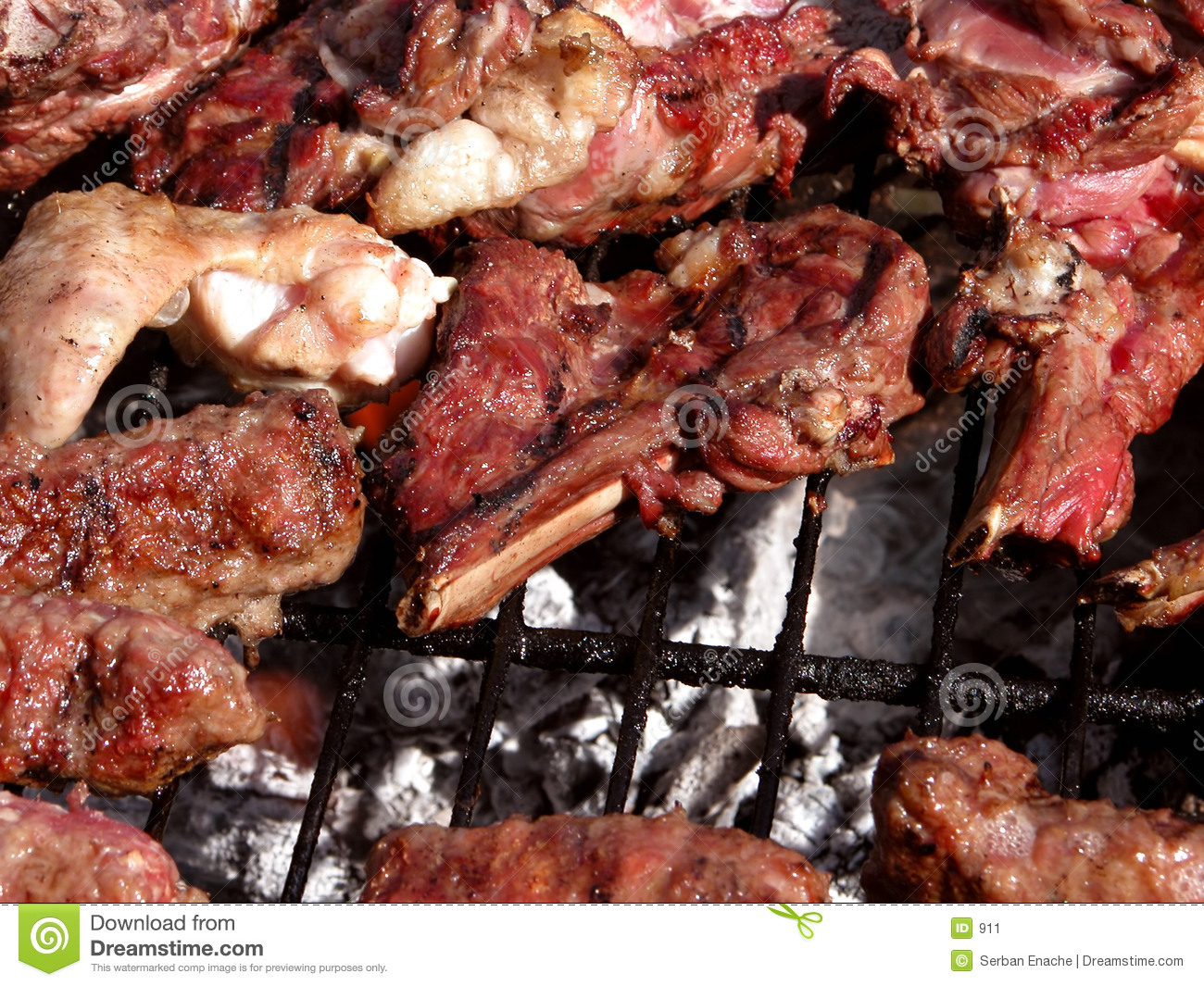 Grillad meat