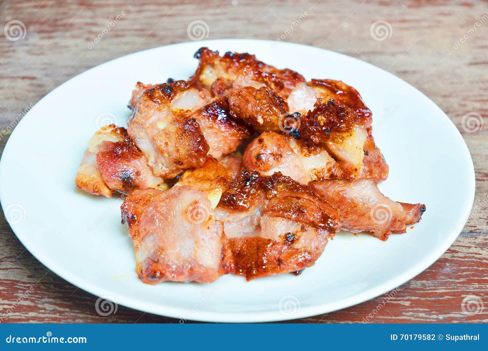 Grillad pork