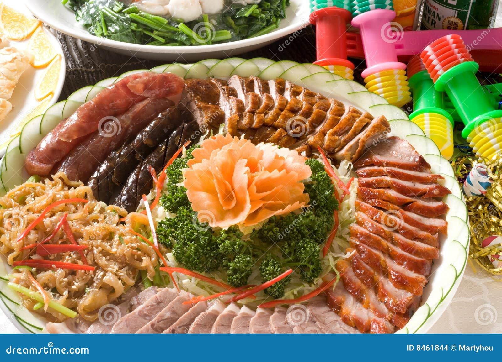 Grillad siu för cantonesemeiplatta