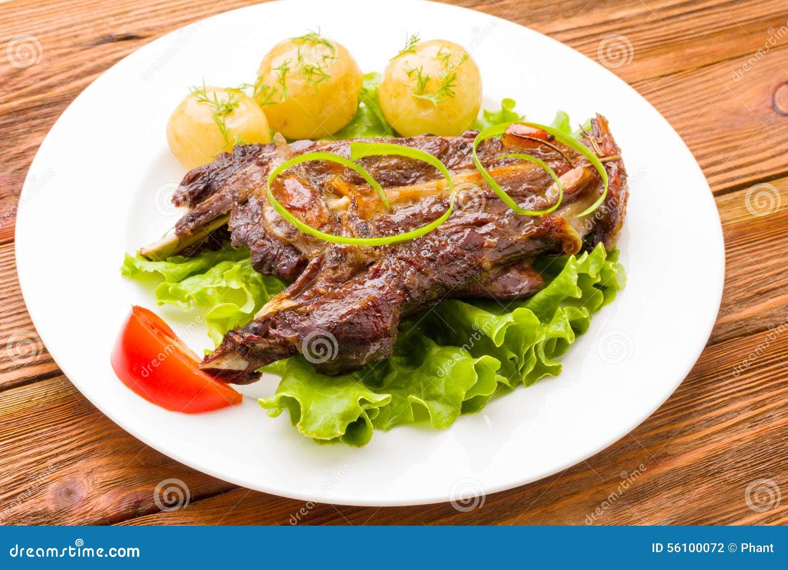 Grillade meatgrönsaker