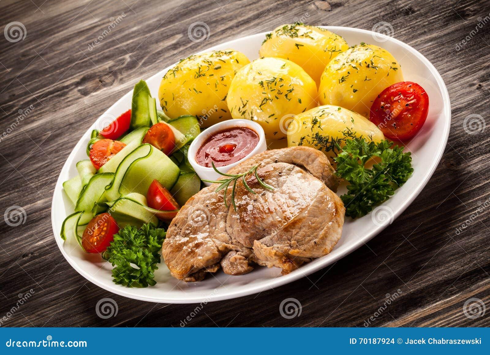 Grillade steakgrönsaker