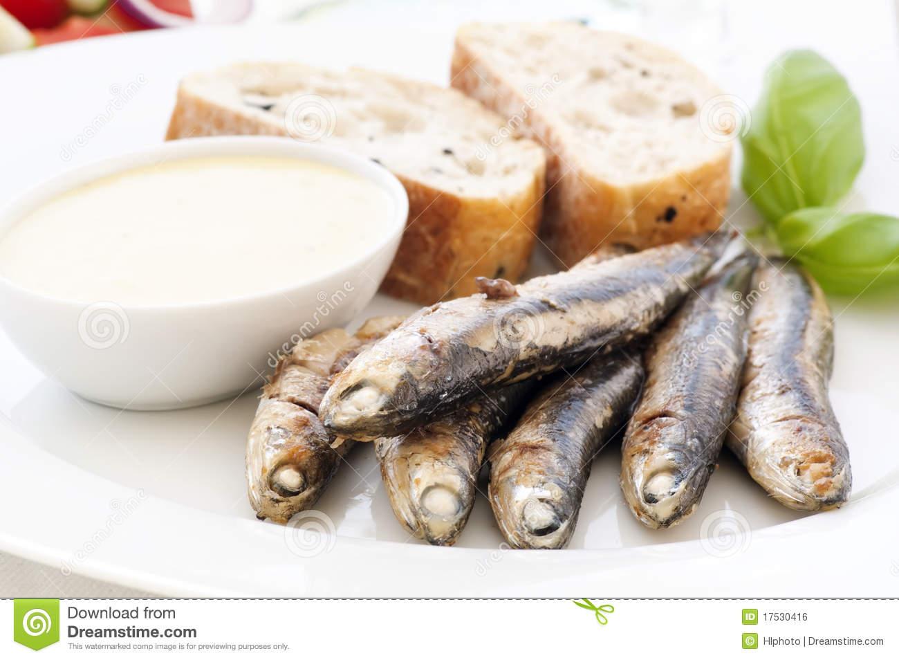 Grilled Anchovy Royalty Free Stock Image - Image: 17530416