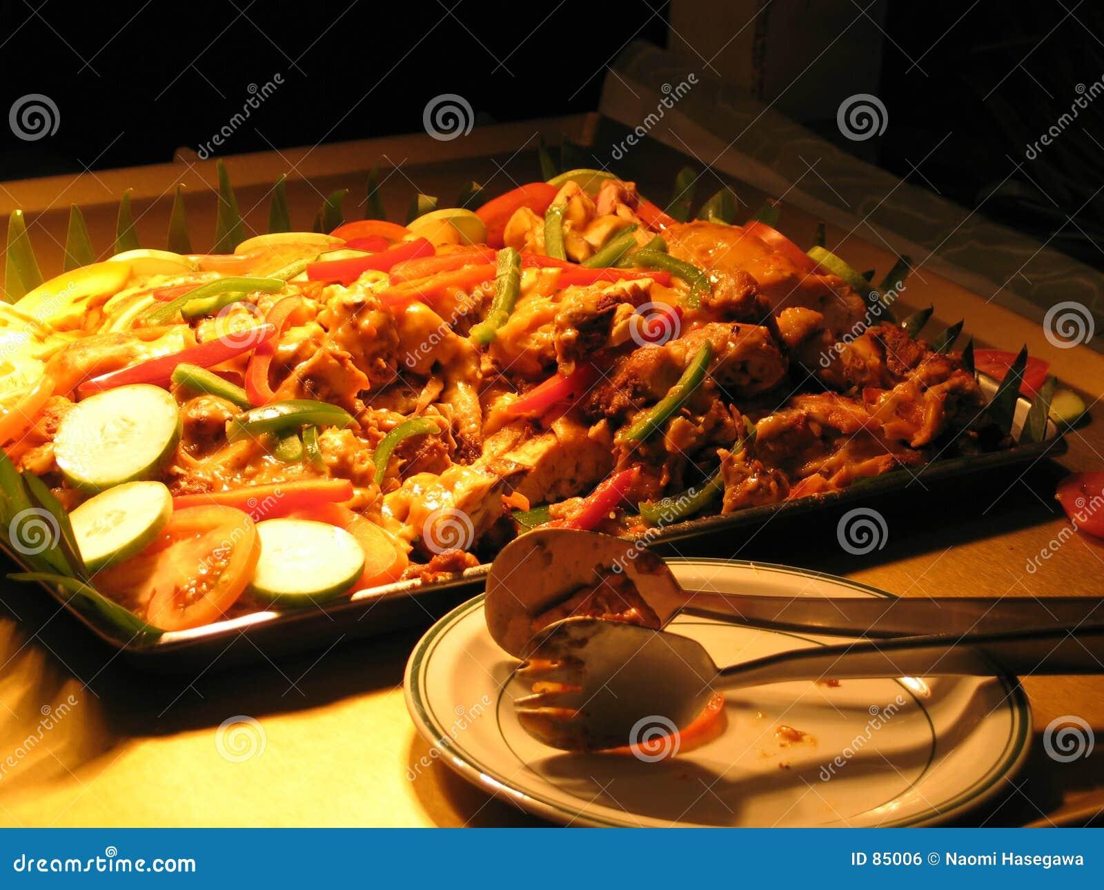 Grilled Chicken Dish