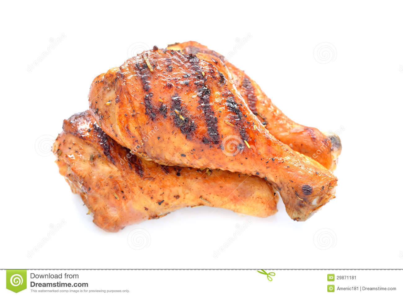 Grilled Chicken Stock Image - Image: 29871181