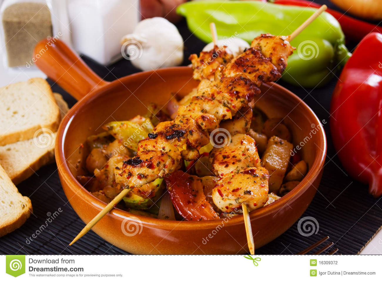 Grilled Saffron Chicken Skewers Recipes — Dishmaps
