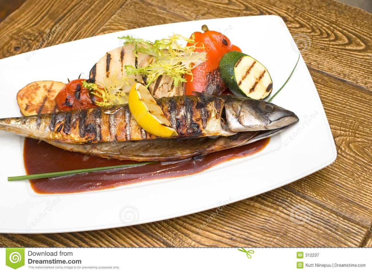 Grilled fish royalty free stock photo for Bbq fish grill