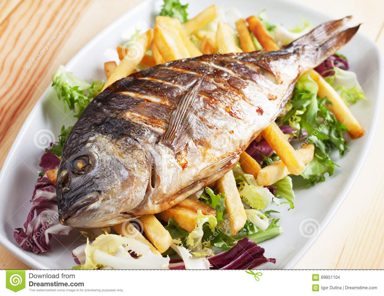 Grilled Freshwater Bream