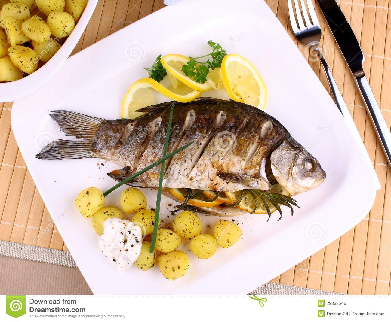 Why are some fish dishes served with lemon? How did this ...