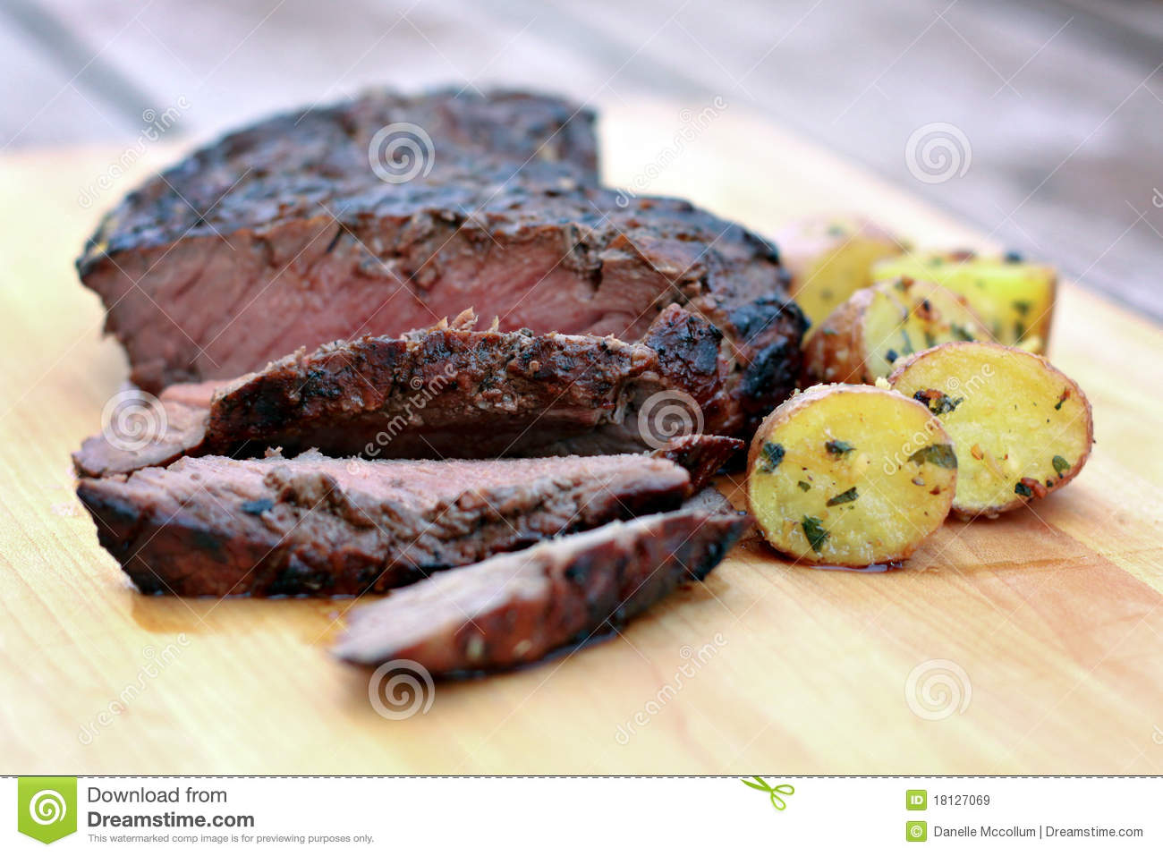 how to cook red grill eye round steak