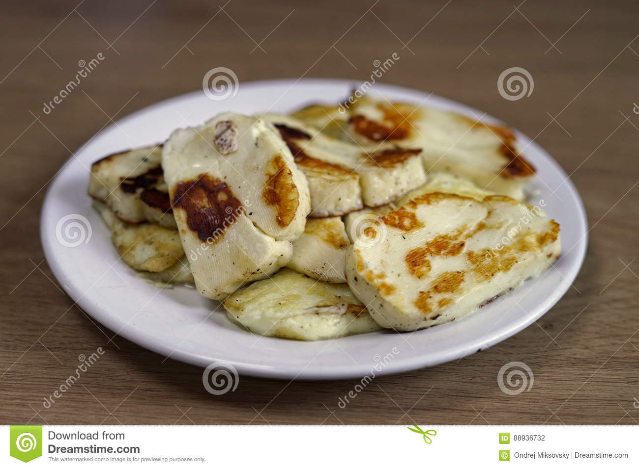 how to make halloumi cheese less salty