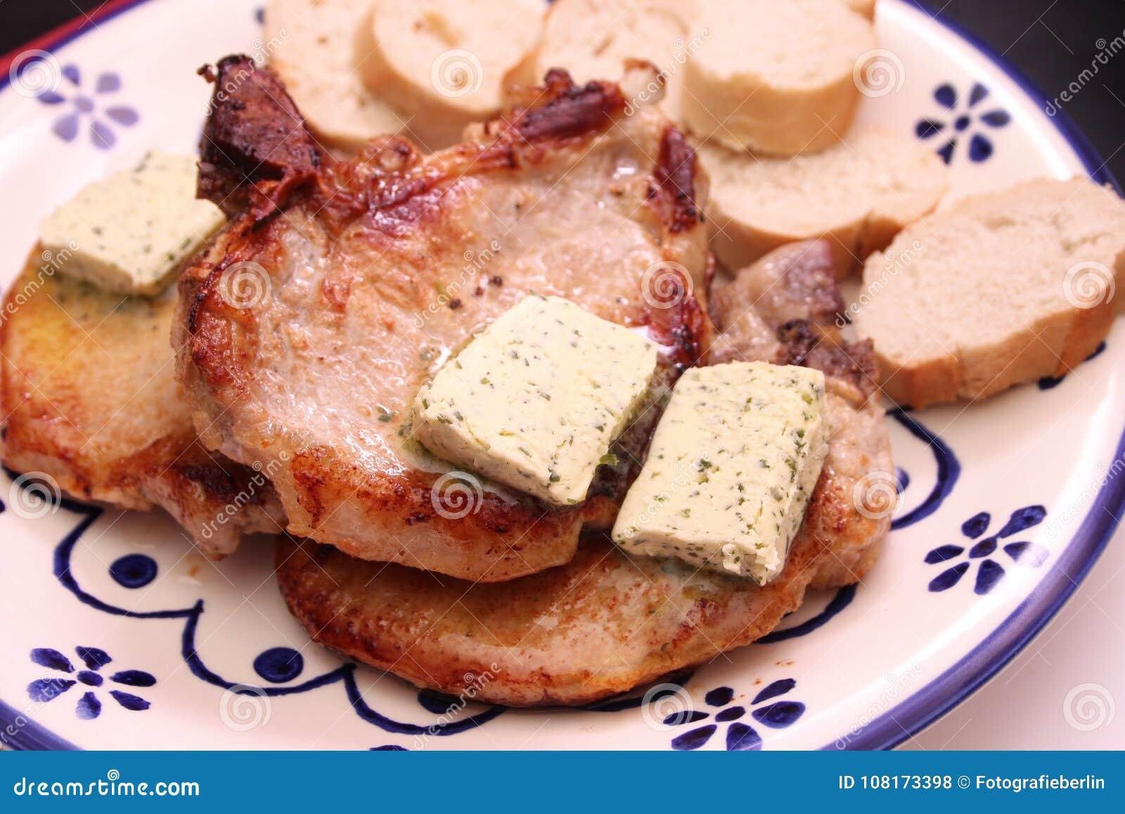 Grilled meat pork