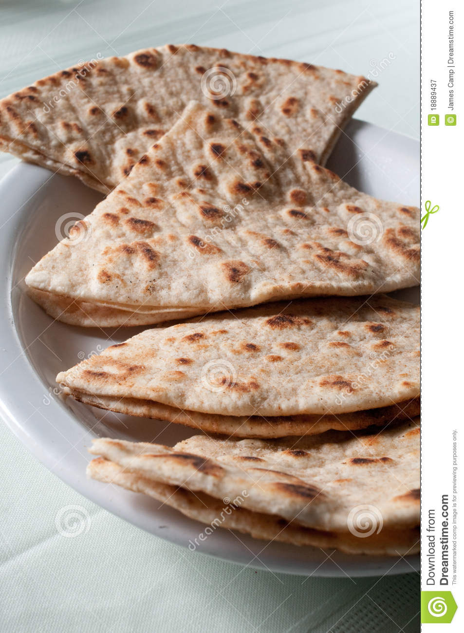 Grilled Pita Bread Royalty Free Stock Photography - Image ...