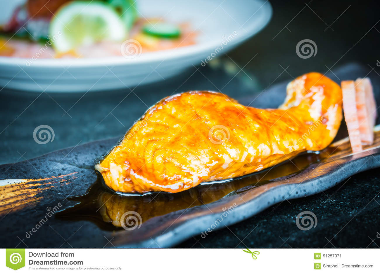 how to make teriyaki sauce for salmon