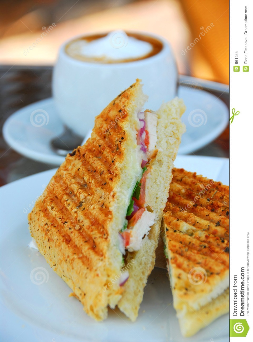 Grilled Sandwich Royalty Free Stock Photo - Image: 961955