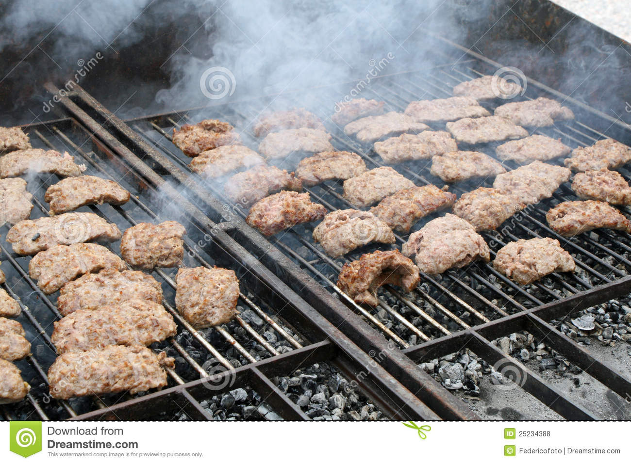 Sausage For Grilled Barbecue Royalty-Free Stock Image ...