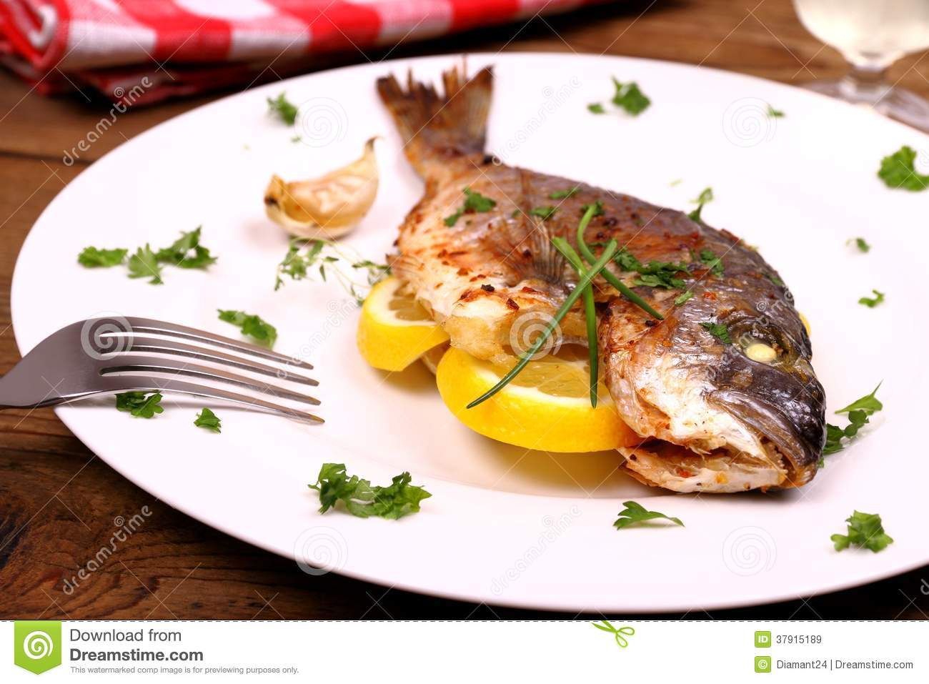 Sea Bream With Caramelized Lemons Recipes — Dishmaps