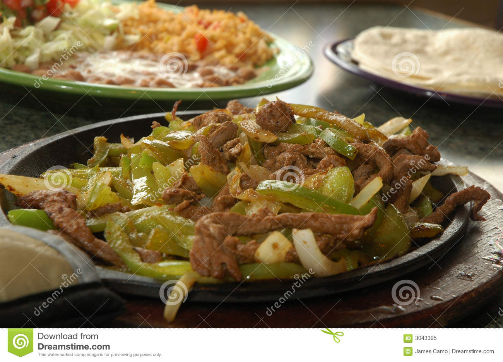 Grilled Steak Fajita Royalty Free Stock Photo - Image: 3043395