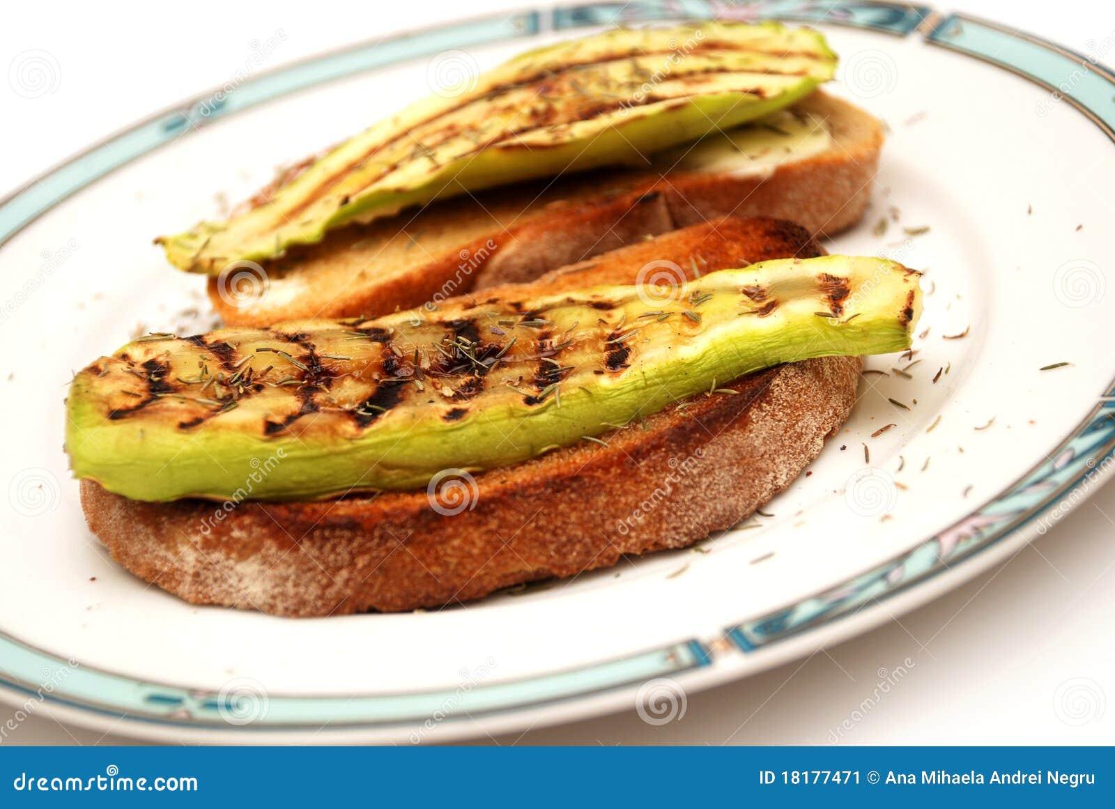 Zucchini Toasts Recipes — Dishmaps