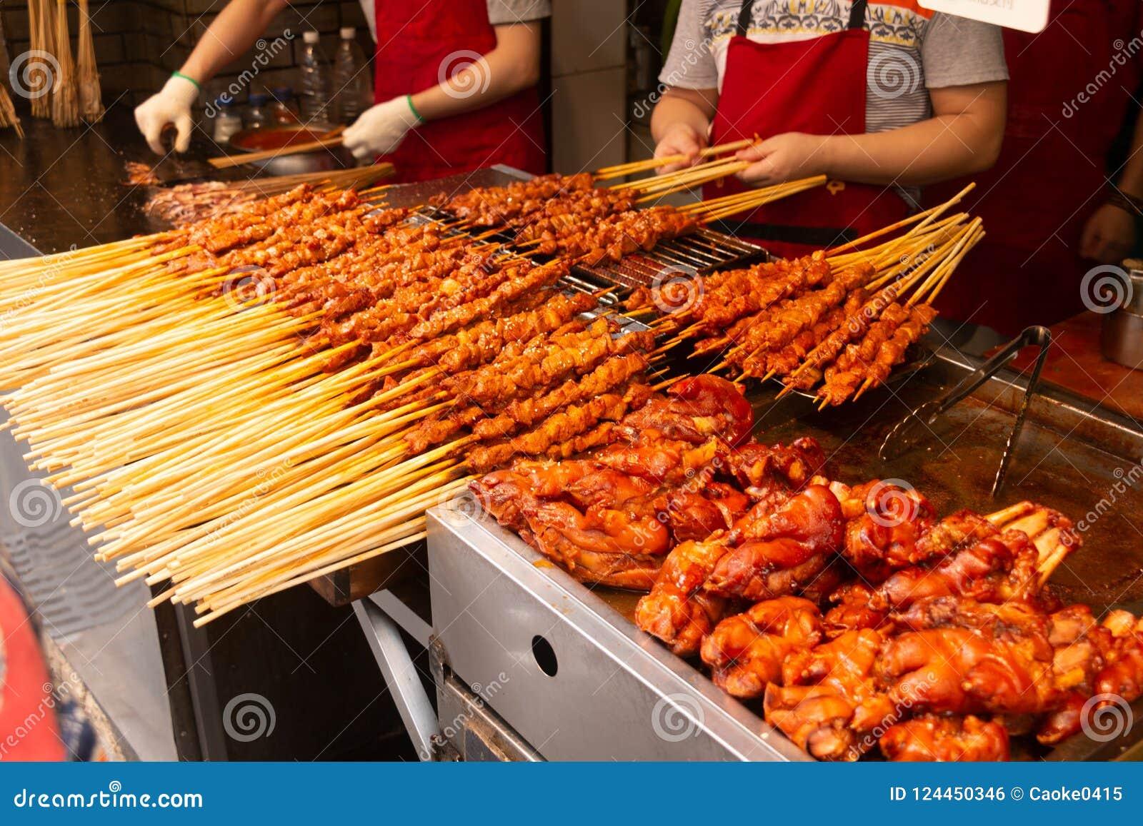 Grillfest i Hubu Xiang, Wuhan
