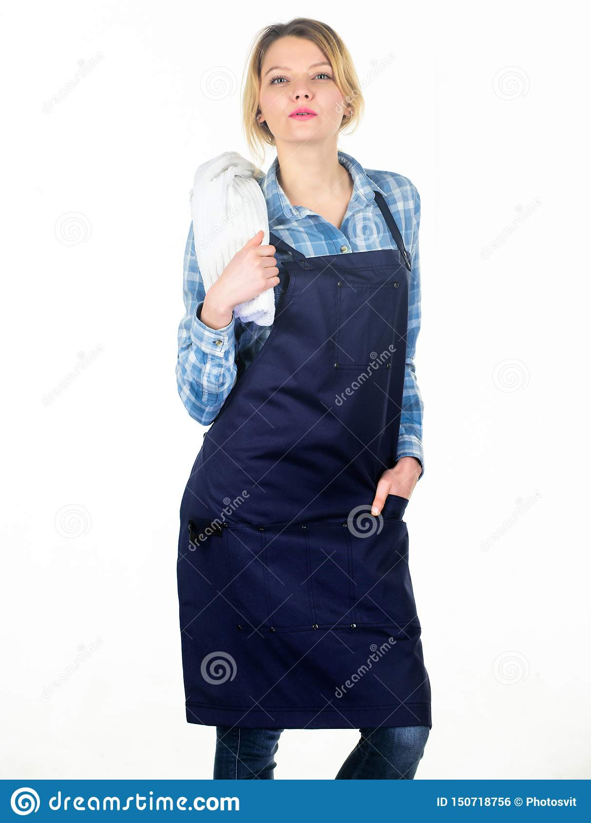 Grilling food. Cooking meat at low temperature for long time outdoors. Cooking meat in park. Barbecue master. Woman