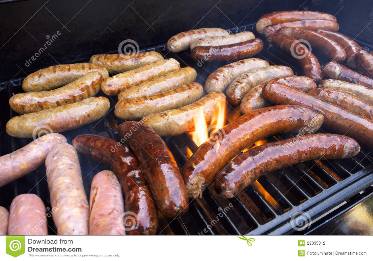 sausage barbecue how to cook