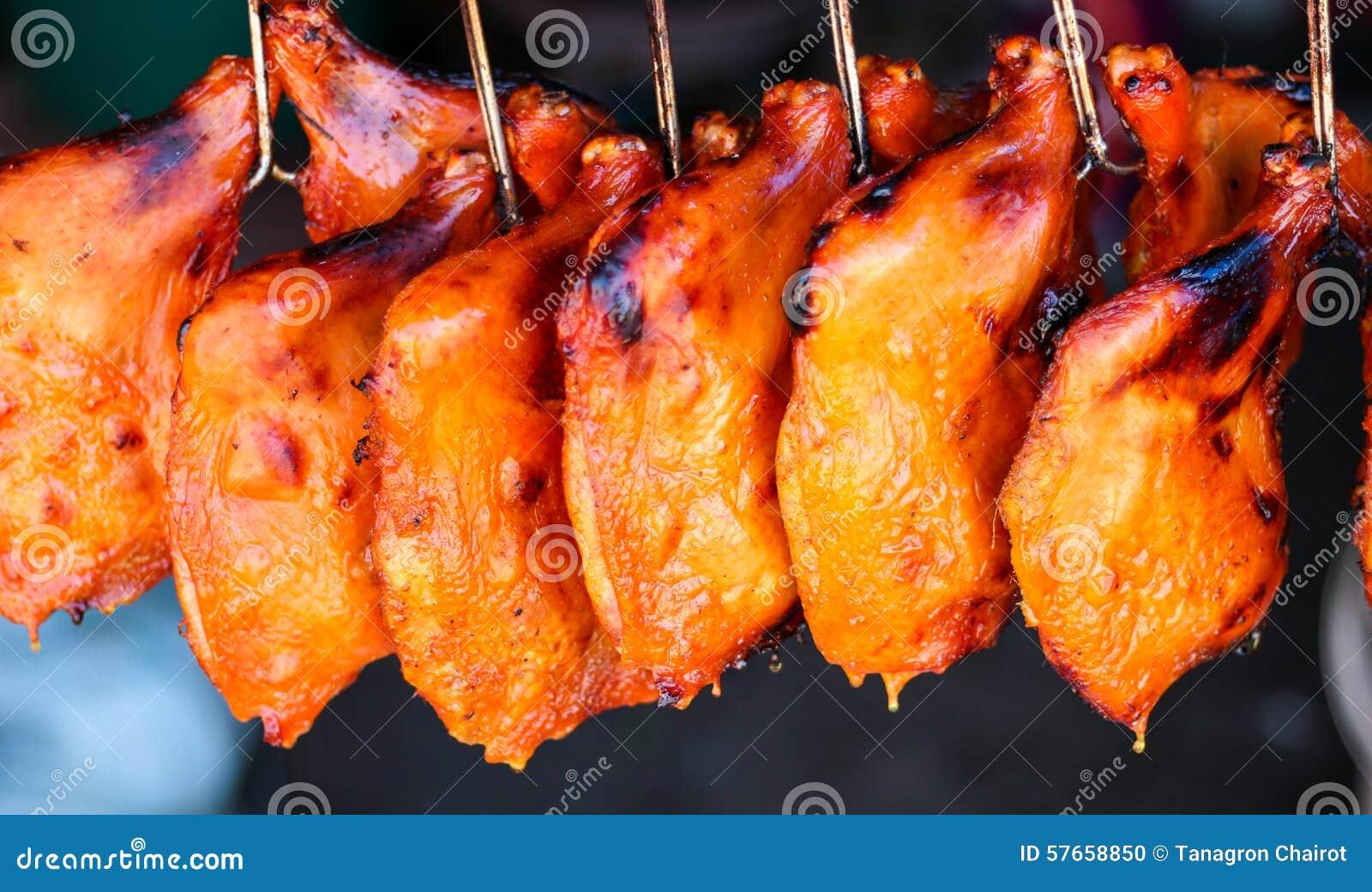 Grilowany kurczak nogi