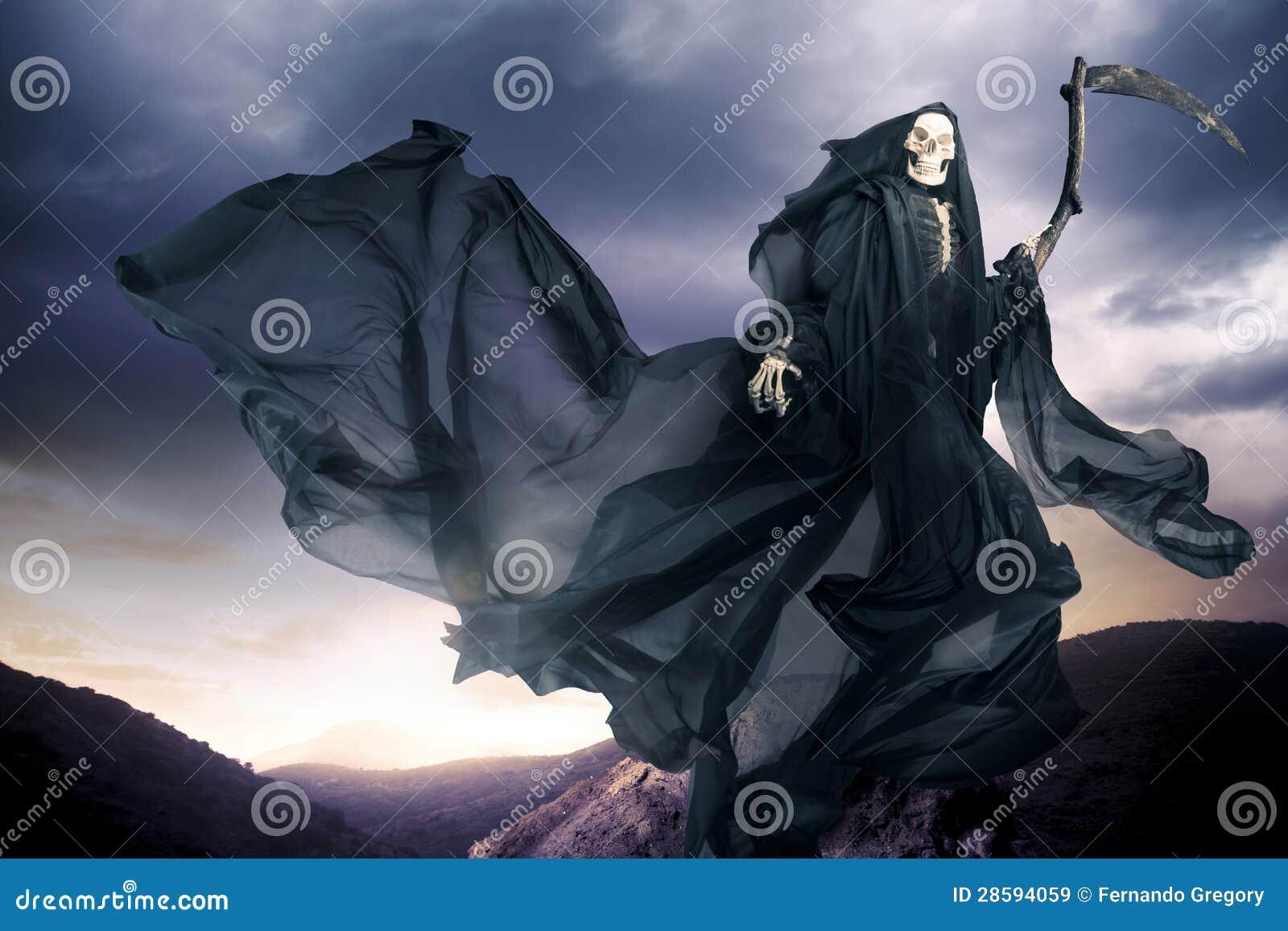 Grim reaper/ angel of death