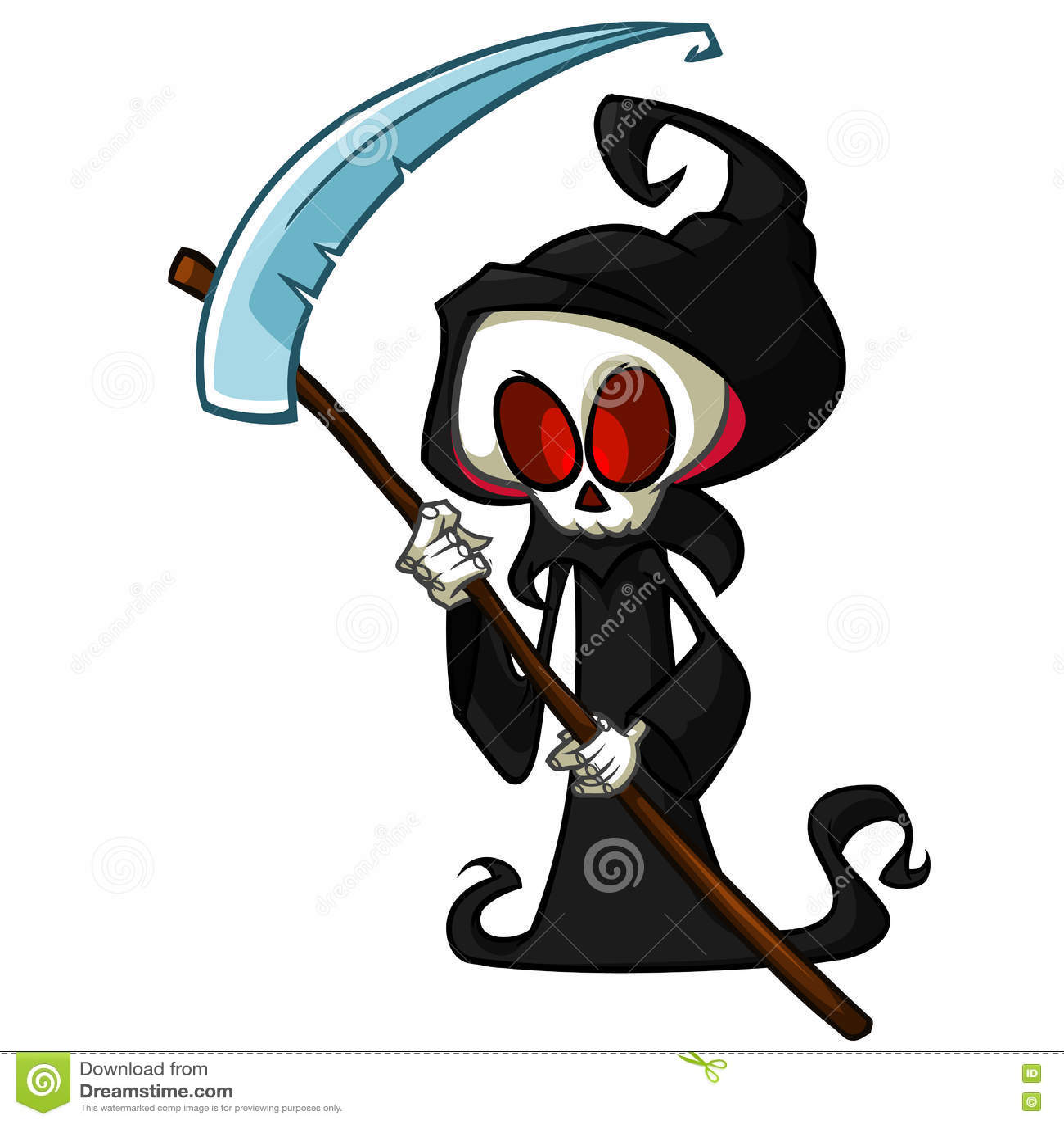 Cartoon Characters Hood : Grim reaper funny cartoon imgkid the image kid