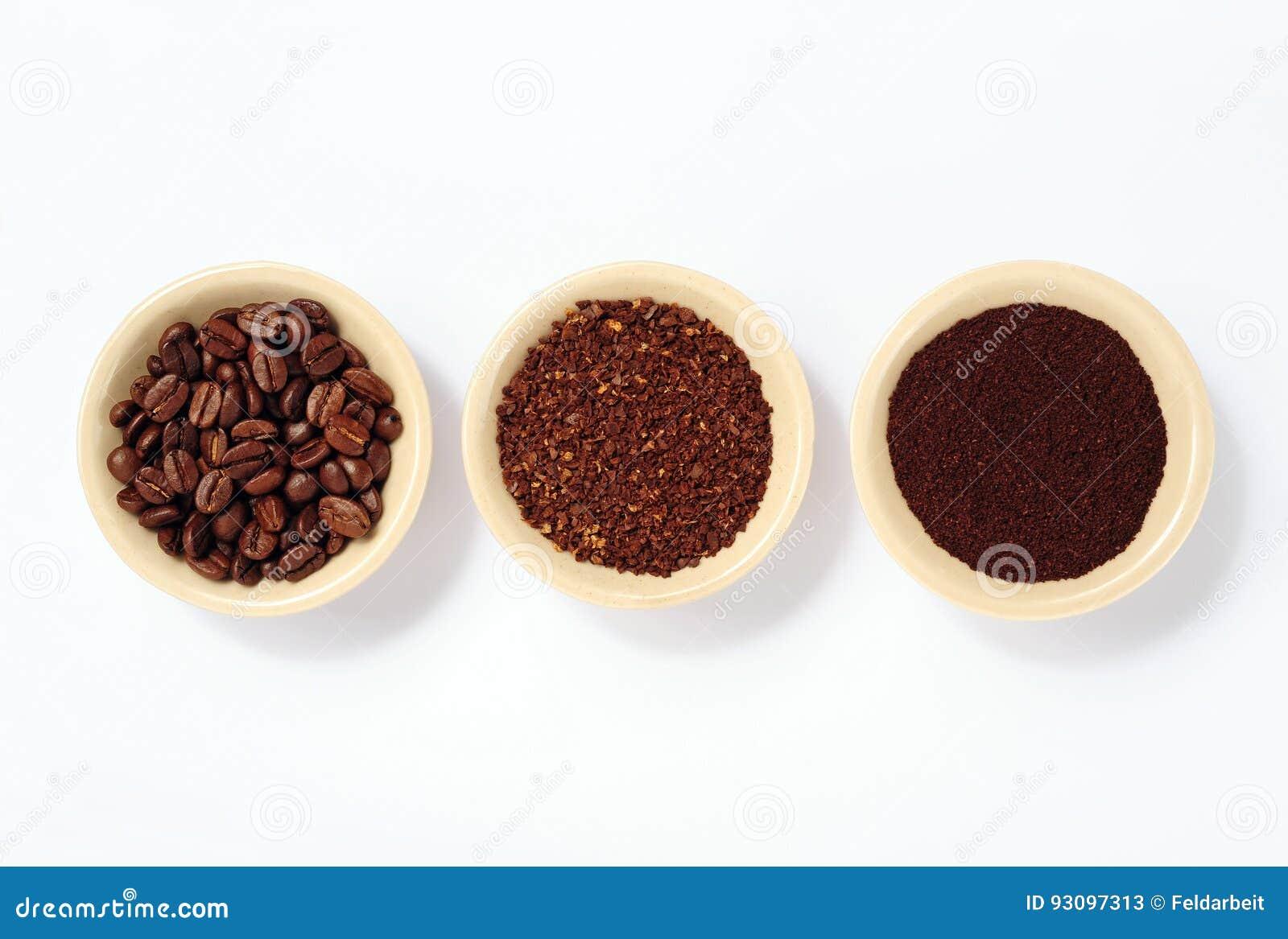 Grinded kaffe