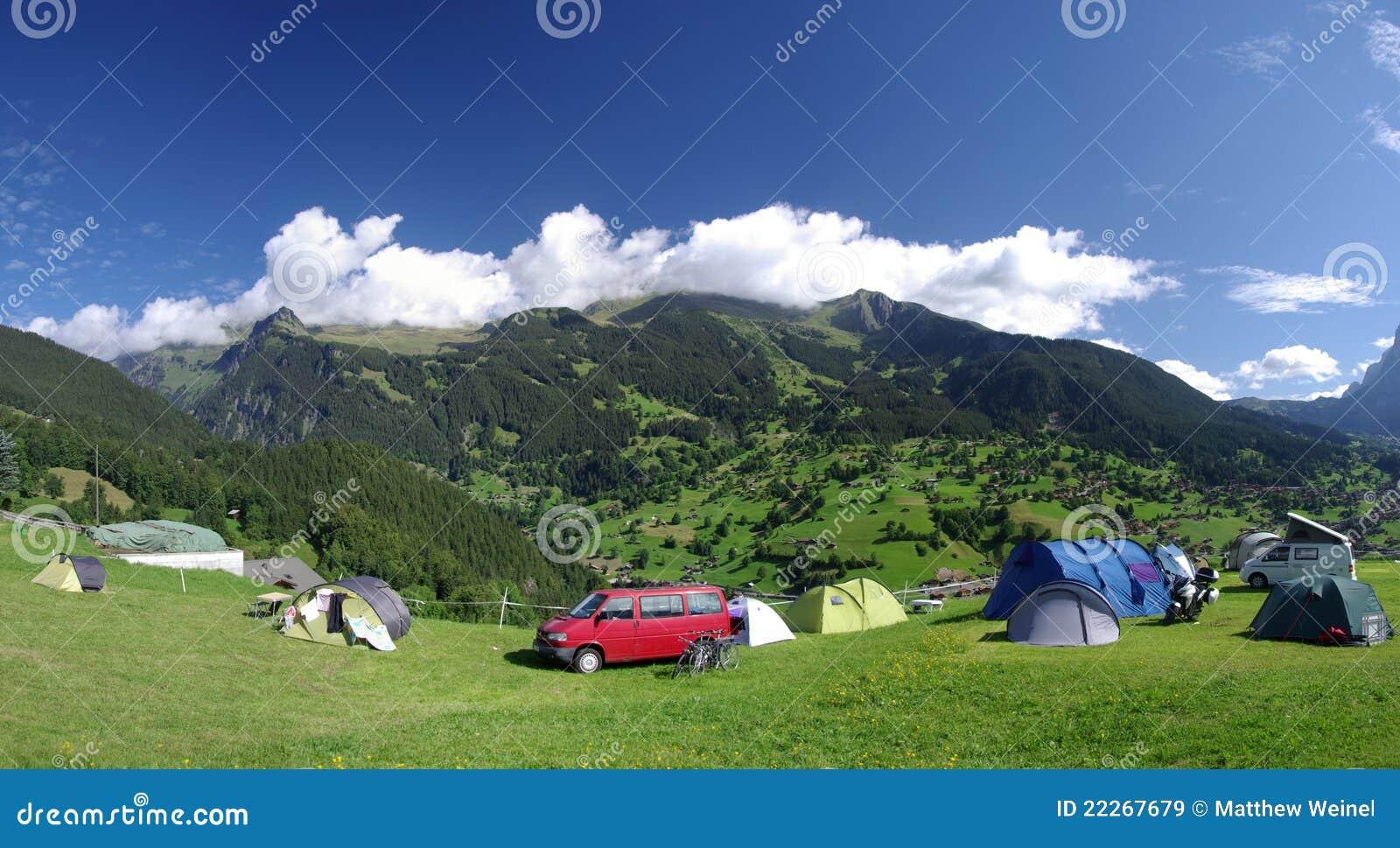Grindelwald места для лагеря