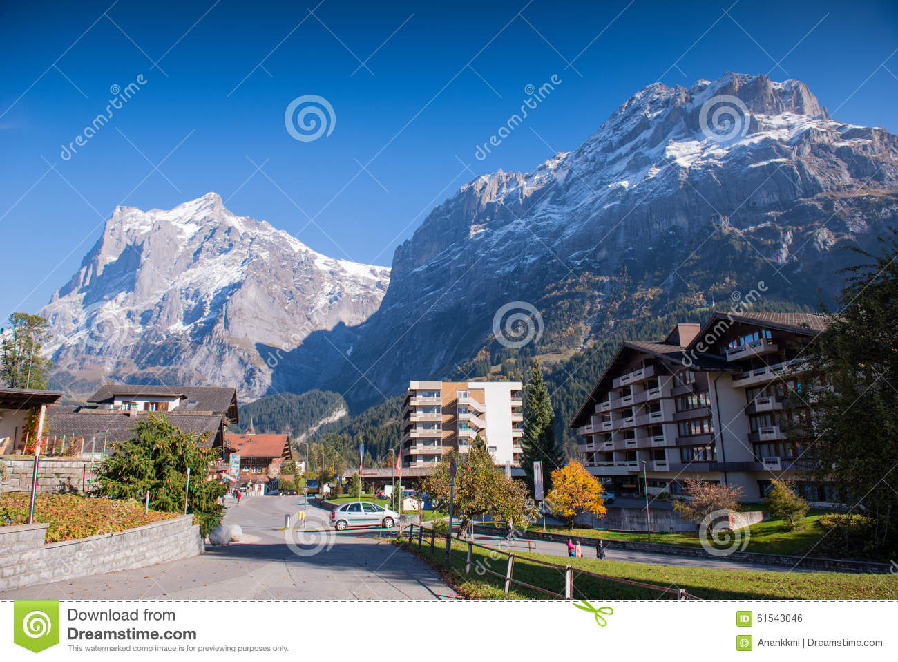 Grindelwald switzerland editorial photo image 61543046 for Vacation destinations in october