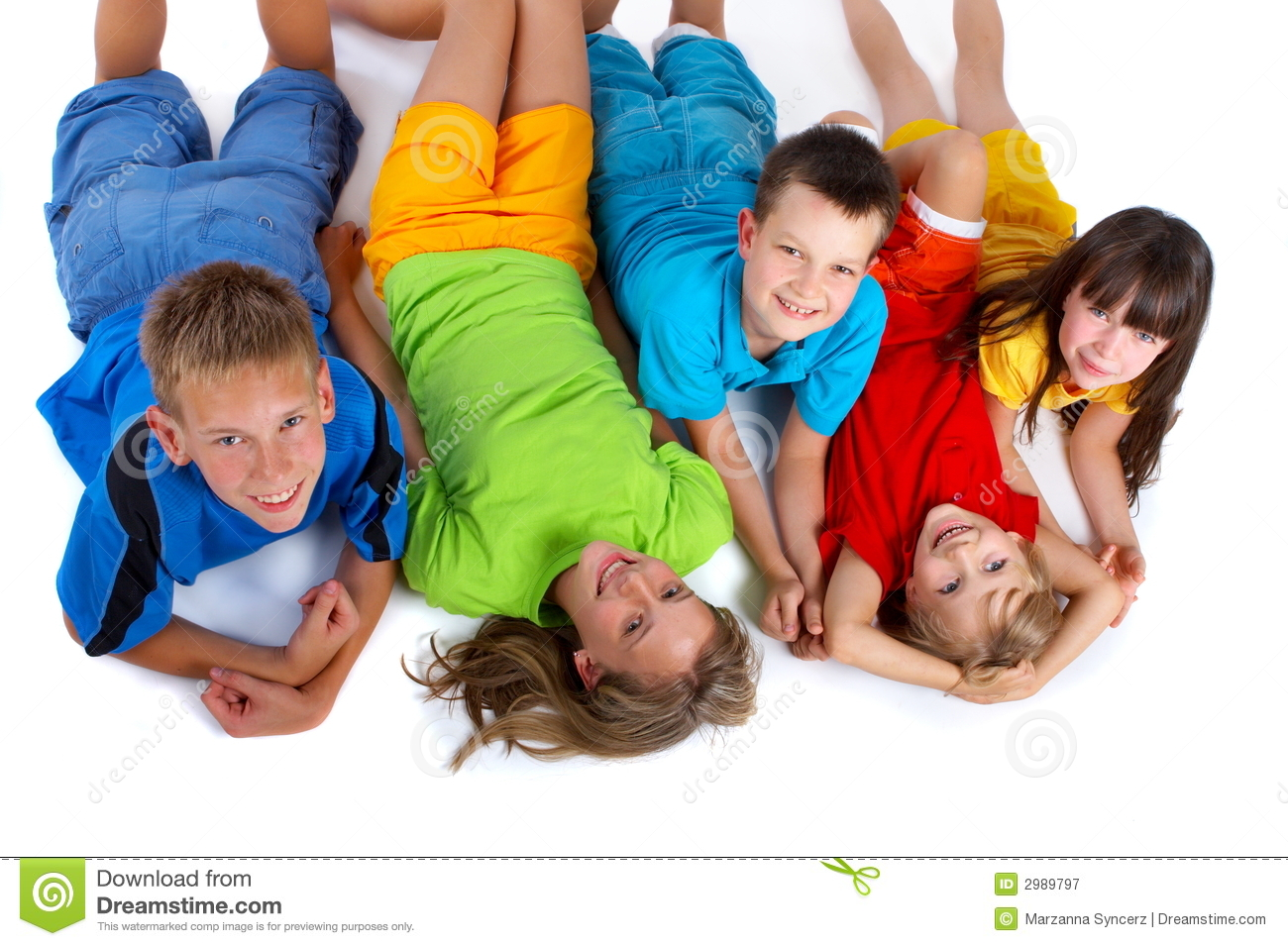 Grinning Kids Royalty Free Stock Photography - Image: 2989797