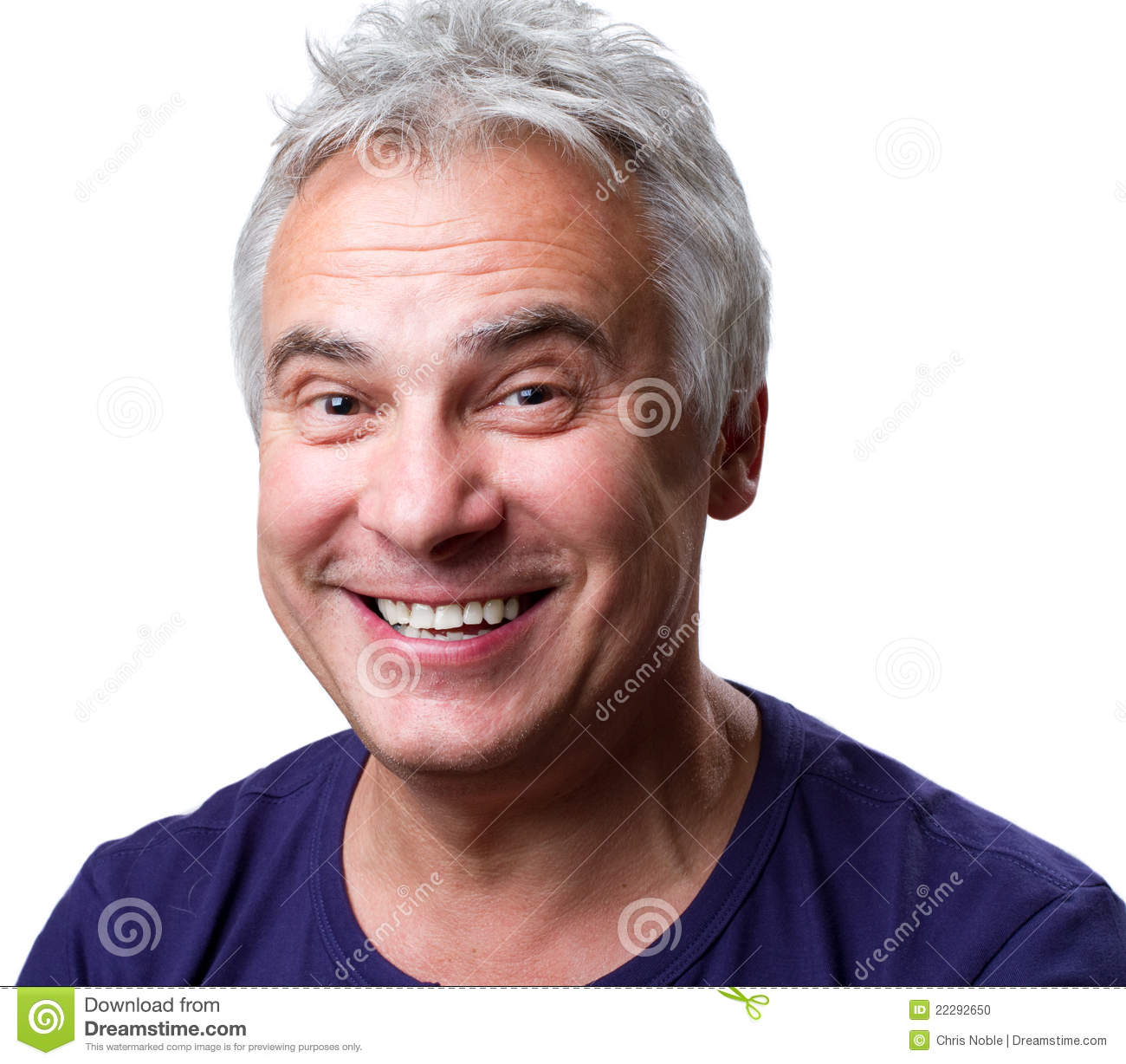 Grinning man stock photo. Image of smile, isolated ...