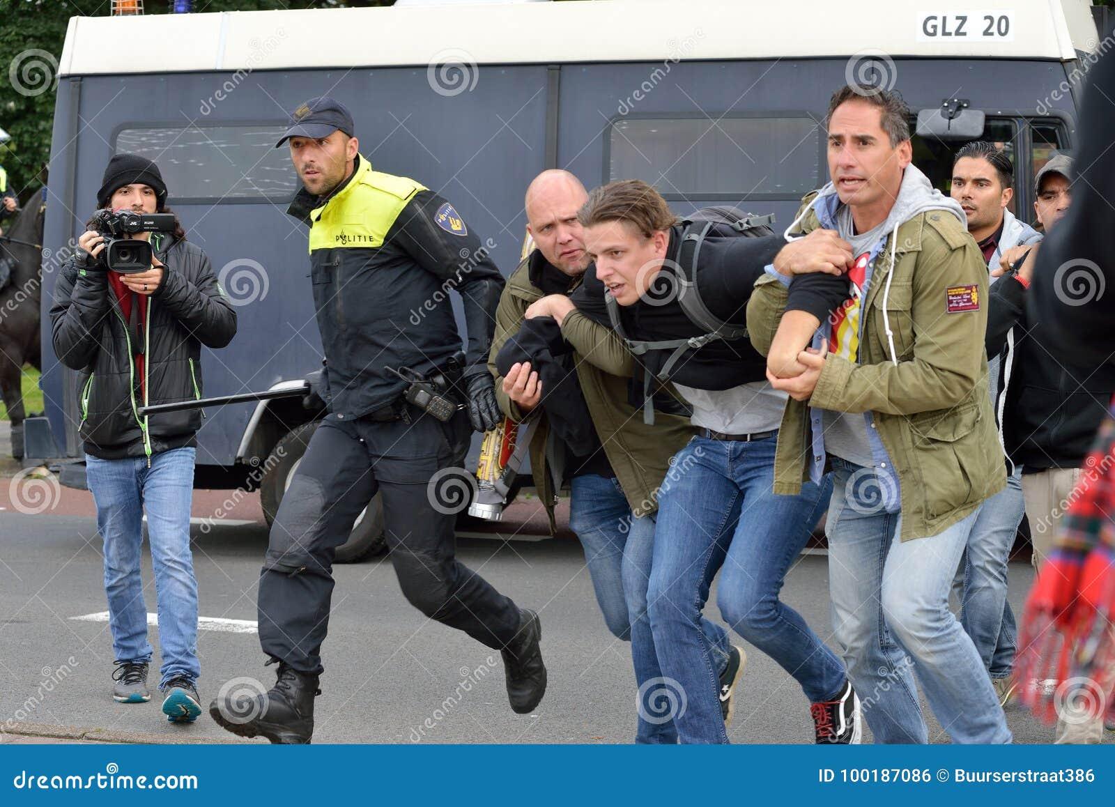 Gripande under protest