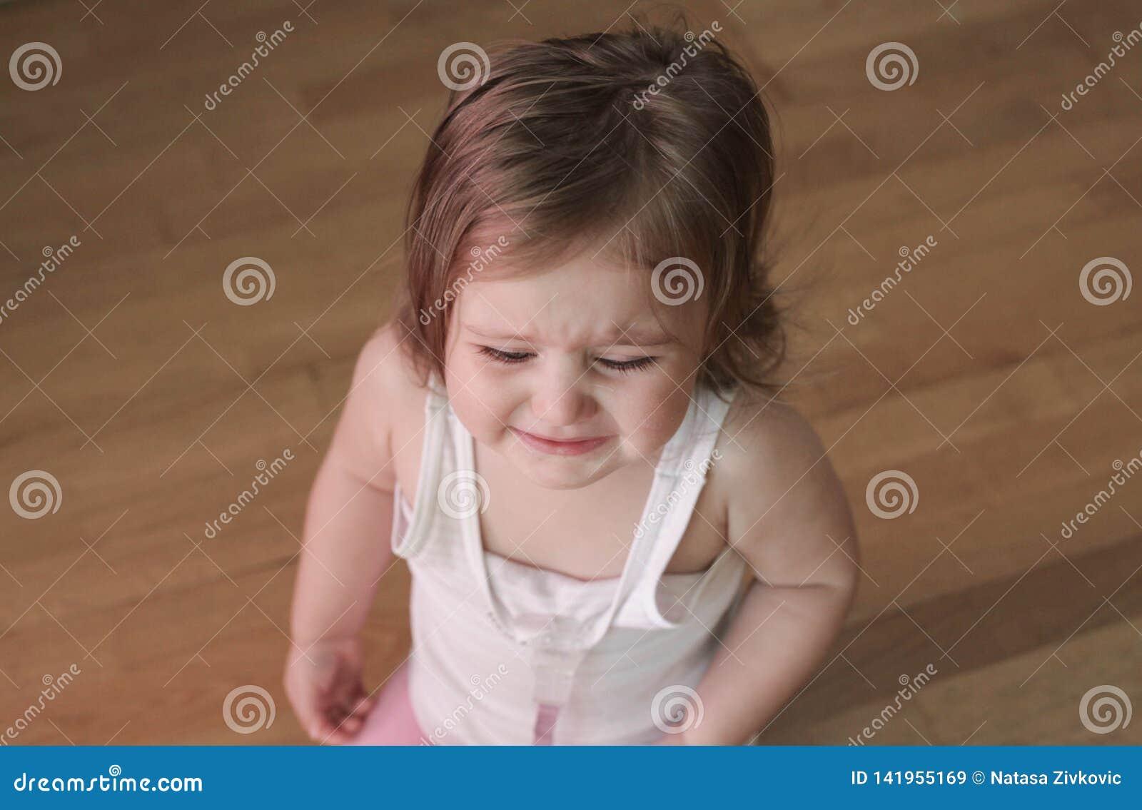 Grito irritado do bebê