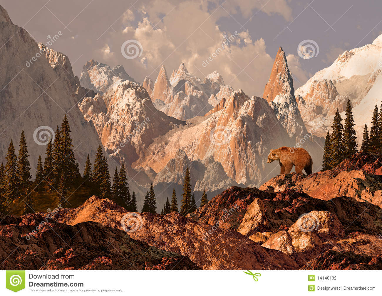 Grizzly niedźwiadkowa góra