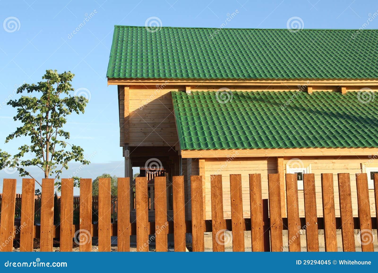 gr nes dach lizenzfreies stockfoto bild 29294045. Black Bedroom Furniture Sets. Home Design Ideas