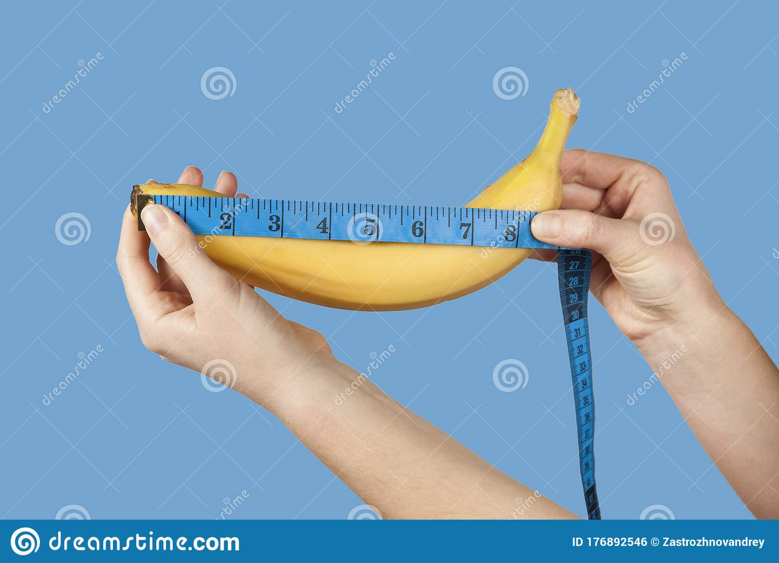 Wie penis messen