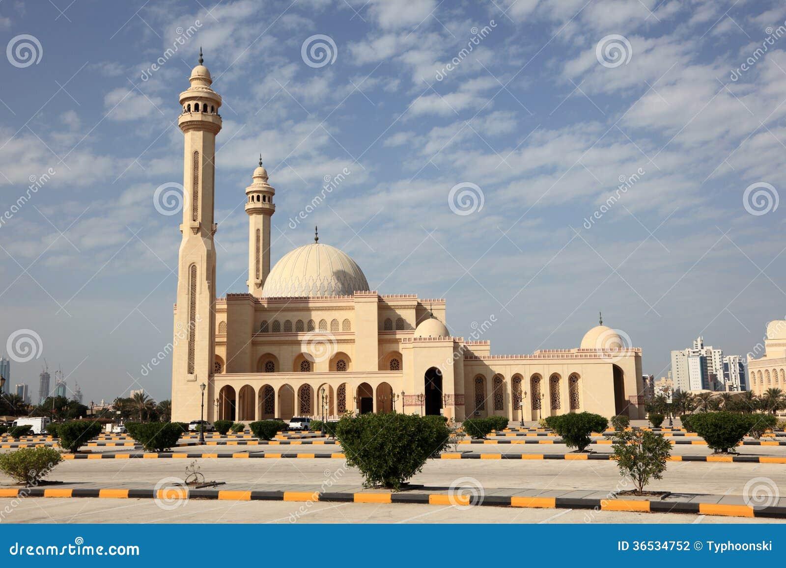 Großartige Moschee in Manama, Bahrain