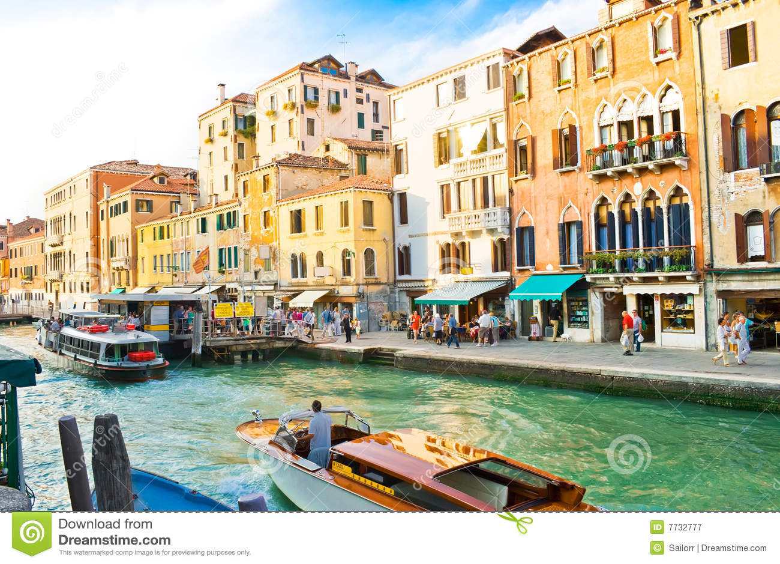 Großartiger Kanal in Venedig